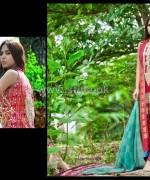 Zainab Chottani Lawn Dresses 2014 by Shariq Textiles 3