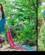 Zainab Chottani Lawn Dresses 2014 by Shariq Textiles 4