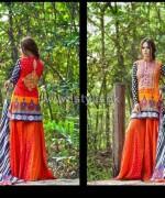 Zainab Chottani Lawn Dresses 2014 by Shariq Textiles 5