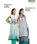Al-Karam Textiles New Prints 2014 For Women 10