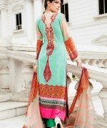 Amna Ismail Lawn Dresses 2014 For Women 003