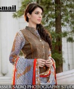 Amna Ismail Lawn Dresses 2014 For Women 004