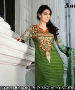 Amna Ismail Lawn Dresses 2014 For Women 006