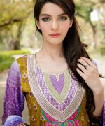 Amna Ismail Lawn Dresses 2014 For Women 007