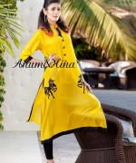 Anum And Hina Spring Dresses 2014 For Women 002