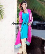 Anum And Hina Spring Dresses 2014 For Women 003