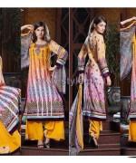 Anum Classic Lawn Dresses 2014 Volume 2 1