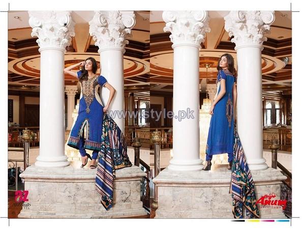 Anum Classic Lawn Dresses 2014 by Al-Zohaib Textiles 12
