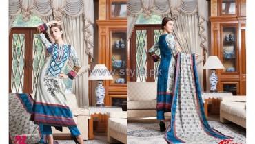 Anum Classic Lawn Dresses 2014 by Al-Zohaib Textiles 13