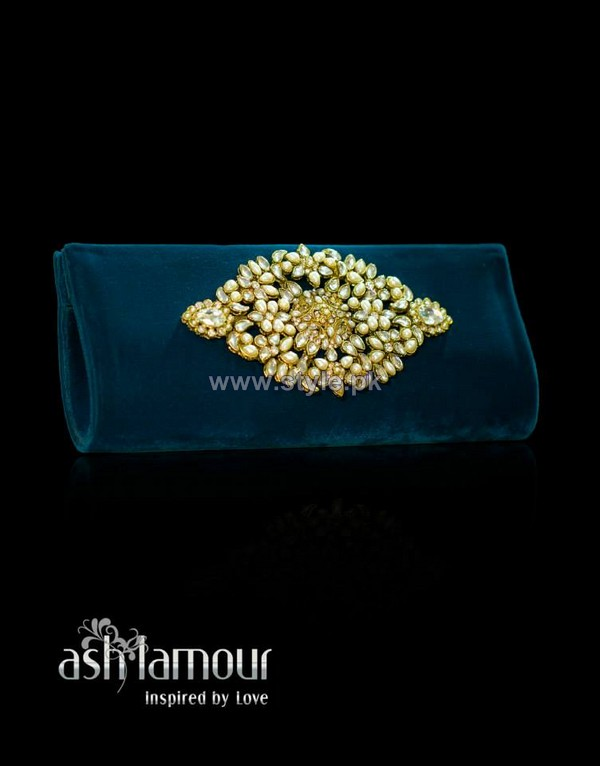 Ash L'amour Latest Clutches 2014 For Women 6