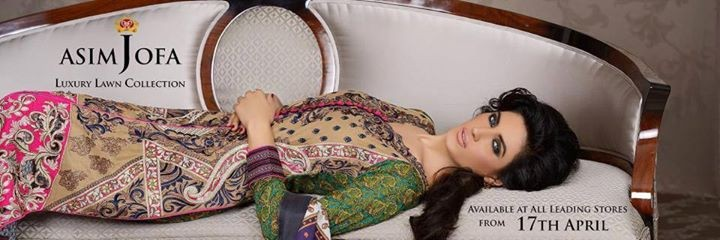 Asim Jofa Lawn 2014 Dresses for Women