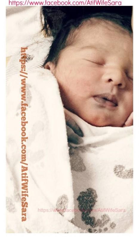 Atif Aslam welcomed his baby boy- Ahad Atif Pic 13