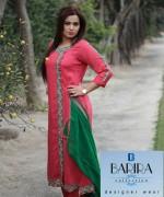 Barira Collection Summer Dresses 2014 For Women 001