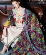 Charizma Lawn Prints 2014 For Summer 6