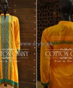 Cotton Ginny Summer Dresses 2014 For Girls 5