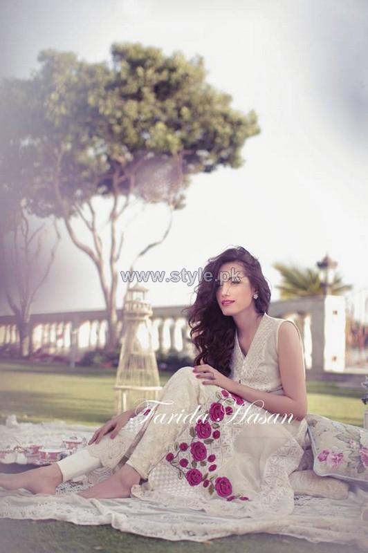 Farida Hasan Summer Dresses 2014 For Girls 2