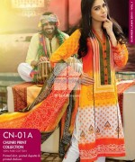 Gul Ahmed Chunri Collection 2014 For Women 12