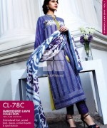 Gul Ahmed Embroidered Lawn Dresses 2014 For Women 002