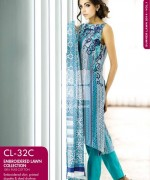 Gul Ahmed Embroidered Lawn Dresses 2014 For Women 005
