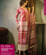 Gul Ahmed Embroidered Lawn Dresses 2014 For Women 006