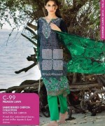 Gul Ahmed Lawn Prints 2014 For Summer 3