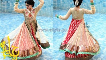 Jannat Nazir Formal and Bridal Dresses 2014 For Summer 2