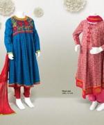 Junaid Jamshed Summer Dresses 2014 Volume 2 For Kids 002