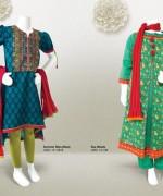 Junaid Jamshed Summer Dresses 2014 Volume 2 For Kids 004