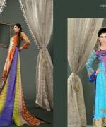 Lala Mashaal Embroidered Dresses 2014 Volume 3007