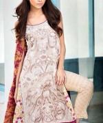Mahnoush Lawn Dresses 2014 Volume 2 For Women 004