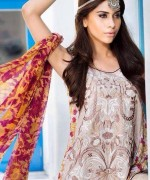 Mahnoush Lawn Dresses 2014 Volume 2 For Women 006