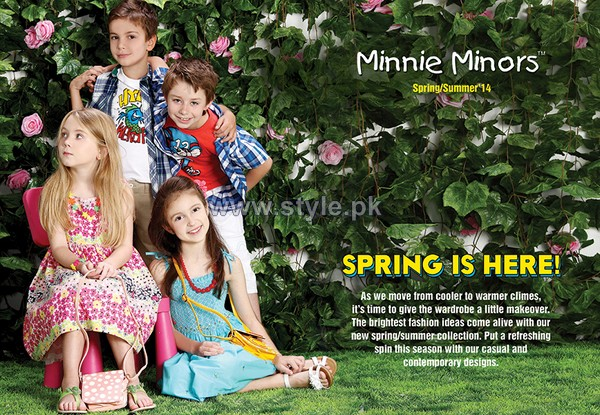 Minnie Minors Summer Dresses 2014 For Kids 7