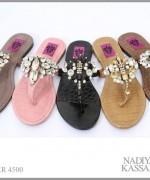 Nadiya Kassam Summer Footwear Collection 2014 For Women