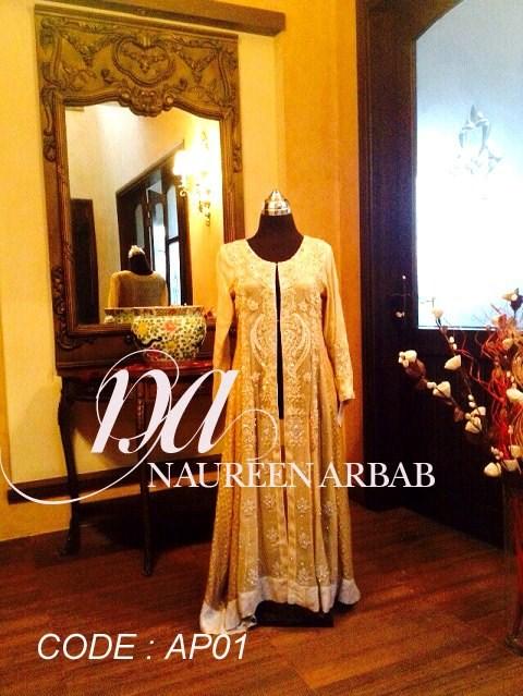 Naureen Arbab Summer Dresses 2014 For Women 0010