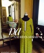 Naureen Arbab Summer Dresses 2014 For Women 003