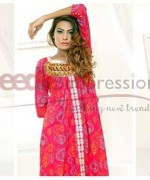 Needle Impressions Ready to Wear Lawn Dresses 2014 for Women002