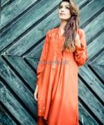 Nida Ali Summer Dresses 2014 For Girls 2
