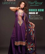 Nukshi Embroidered Dresses 2014 for Women004