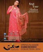 Nukshi Embroidered Dresses 2014 for Women005