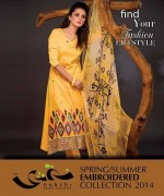 Nukshi Embroidered Dresses 2014 for Women011