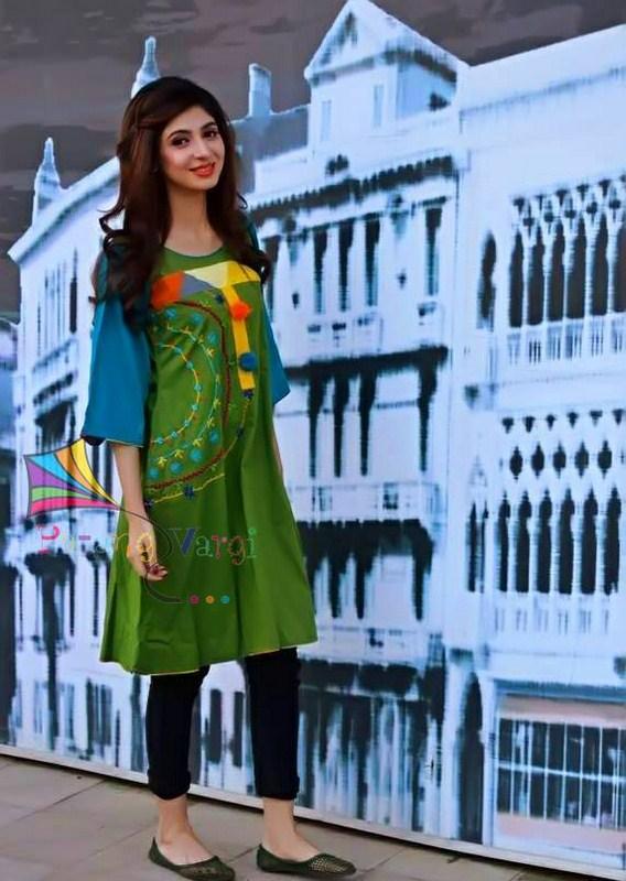 Patang Vargi Summer Dresses 2014 For Women 003