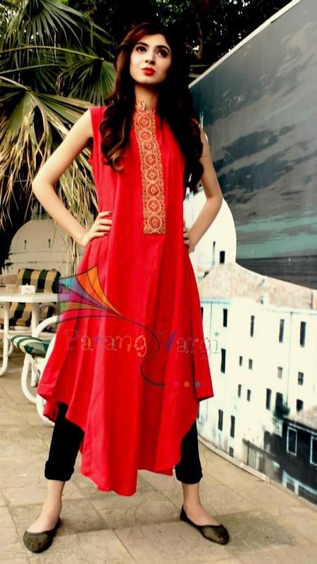 Patang Vargi Summer Dresses 2014 For Women 004