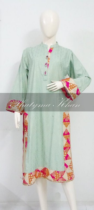 Phatyma Khan Casual Dresses 2014 For Women 006