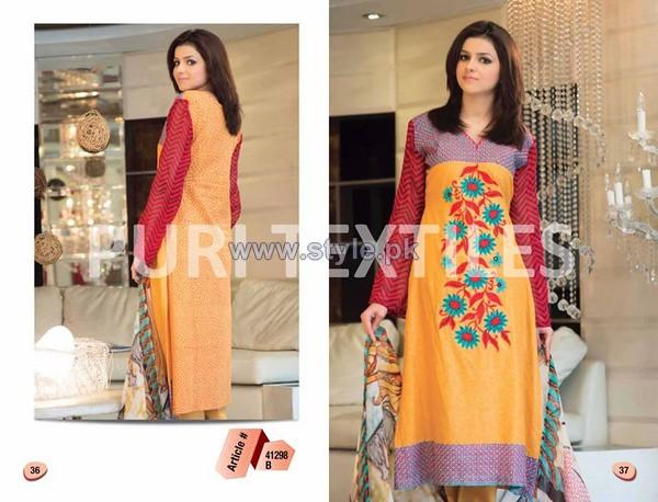 Puri Textiles Lawn Dresses 2014 Volume 2 7