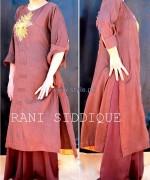 Rani Siddique Summer Dresses 2014 For Girls 4