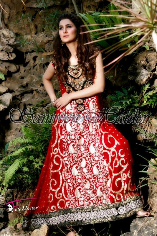 SamreenHaider Party Dresses 2014 For Summer 1
