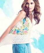 Sanam Chaudhri Summer Dresses 2014 for Women001