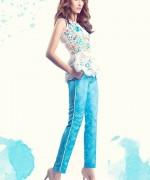 Sanam Chaudhri Summer Dresses 2014 for Women002