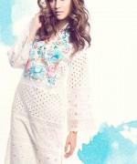 Sanam Chaudhri Summer Dresses 2014 for Women003