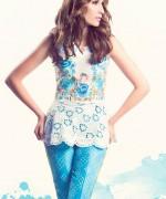 Sanam Chaudhri Summer Dresses 2014 for Women006